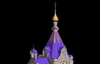 穹顶小教堂3DS模型