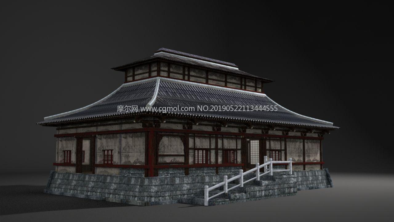 古建筑建筑房子房屋老宅日本寺廟古代建筑古典 文件說明:版本格式
