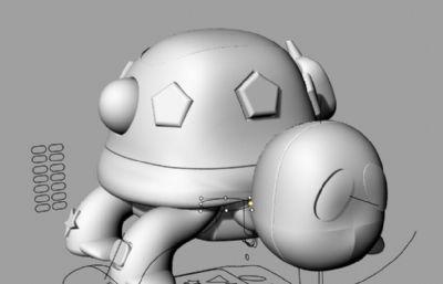 �б�与��的卡通�觚�3DM模型