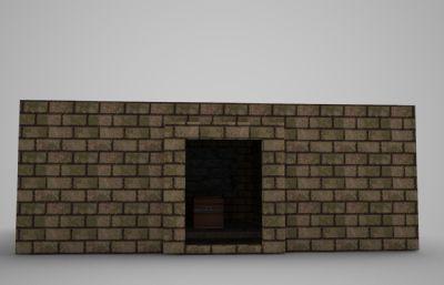 �伍g建筑�I墓房子3D模型