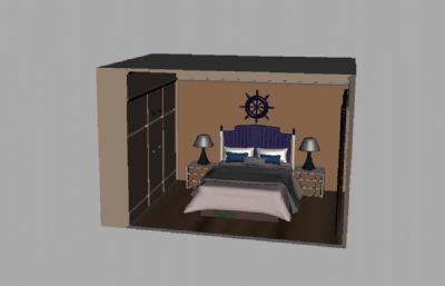 maya�P室,有衣柜,�_��,舵等�b�
