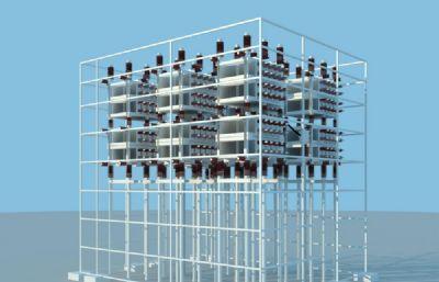 35kv框架式电容器max模型