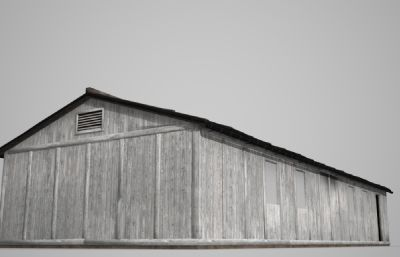 泥土房子,木房子3D模型