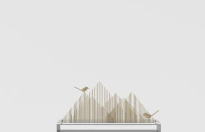 小鸟枝条新中式装饰品