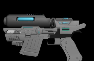 科技量子枪max模型