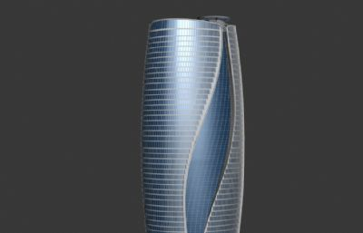北京丽泽SOHO商业大楼max模型