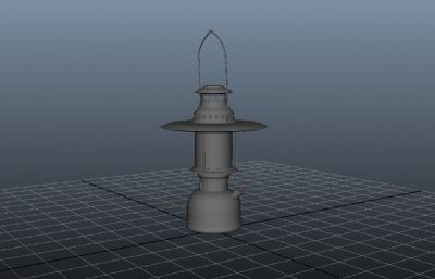油灯,马灯maya模型