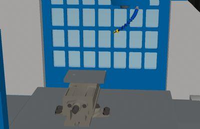 �悼氐胥��C床3D模型