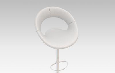 高�_椅,吧椅max模型