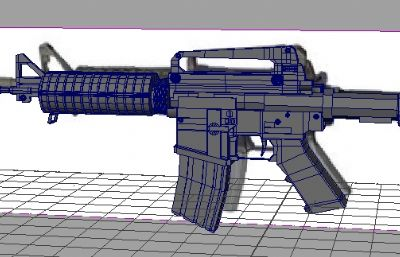 M4A1-OBJ模型