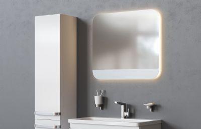 洗手�_洗手盆浴室柜max模型,vray渲染,corona渲染���版本