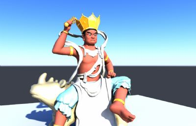 �T神菩�_maya模型