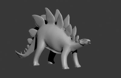 ���恐��3D模型