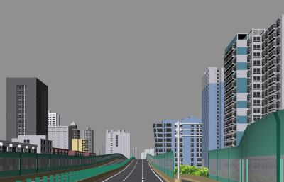 高架路出口,路口�б��Dmax模型,有部分�N�D