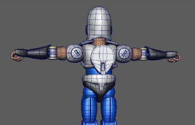 柔王丸maya模型