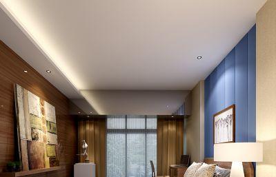 卧室,次卧max模型