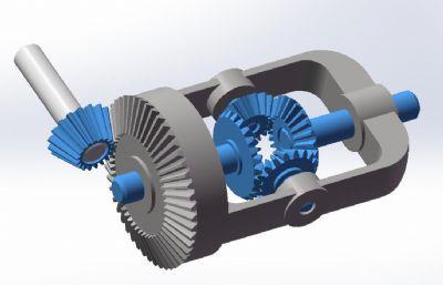 差速器�Y���D�,STP格式模型
