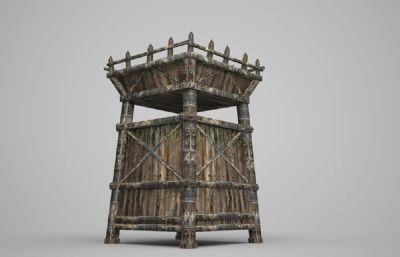 木架子3D模型