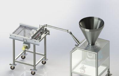 食品加工�D��C3D�D�,STEP模型