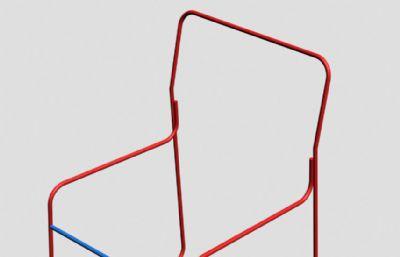钢管椅子,办公椅子的铁架