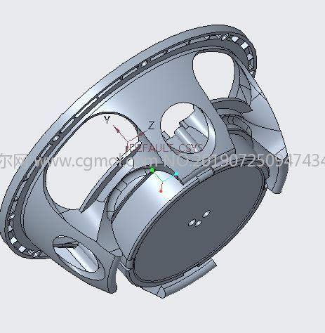 游艇�P�器盆架,�P�器支架STL模型
