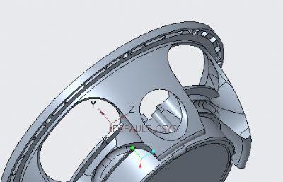 游艇扬声器盆架,扬声器支架STL模型