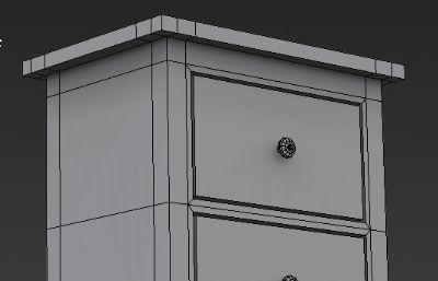 兩斗抽屜柜