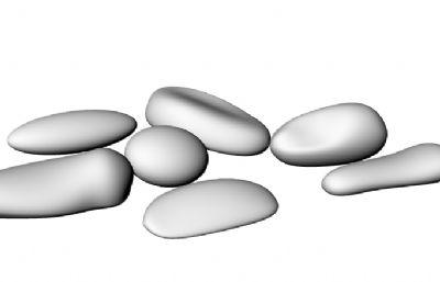 鹅卵石3DM模型