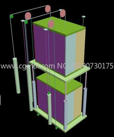 �p子�梯max�易模型