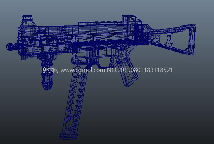 ump45�_�h��maya模型