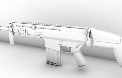 突�舨��scar-maya模型