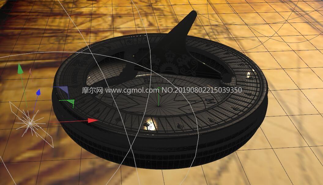 中世�o航海�r代�_�PC4D模型