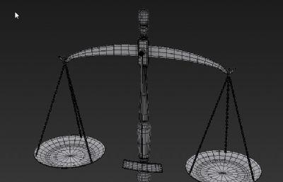 天平+砝码MAX模型
