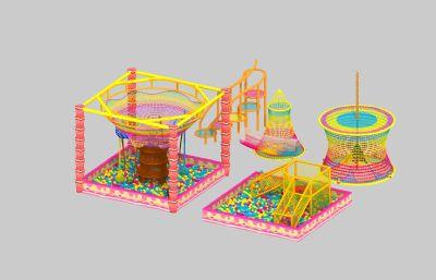彩虹�渑逝谰W海洋球max模型