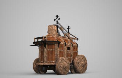 古代�R�木�^�3D模型
