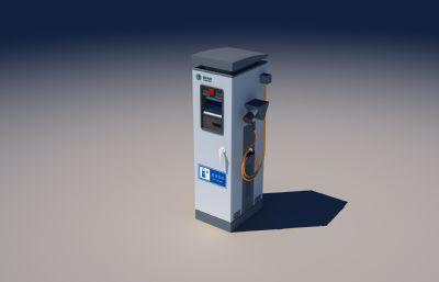 电动汽车充电桩MAX模型