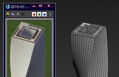 扭曲异形大楼