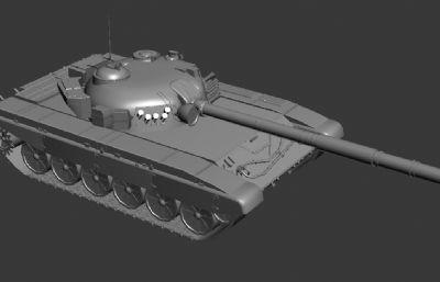 T-72主�鹛箍�MAX模型