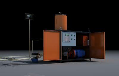 液�憾帱c干油泵�O��3D模型