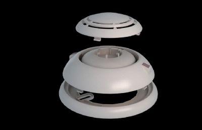 ��感探�y�O��,消防�O��3D模型