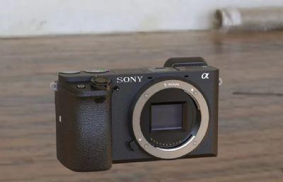 索尼 SONY A6400 1:1相機STP模型