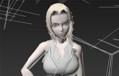 火影忍者�V手模型