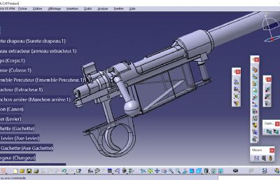 毛瑟98K STP格式模型,非���w模型,�H用于�W�交流