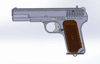 TT-33二�鹈���sldprt 模型,非���w模型,�H用于�W�交流