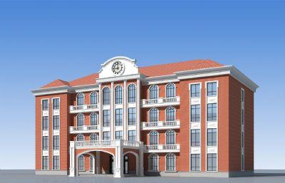 欧式教学楼,综合楼