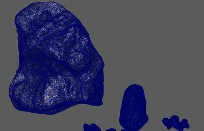 精�石�^Maya模型,有2K�N�D