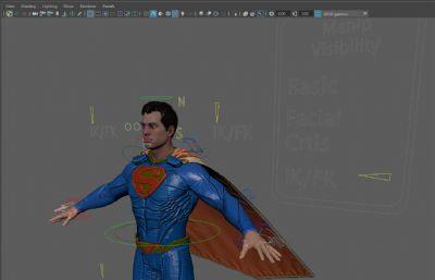 Superman超人精�模型,有�定,有�N�D