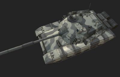 次世代96坦克3D模型