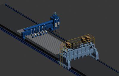 板�卧�焊接�C器3D模型