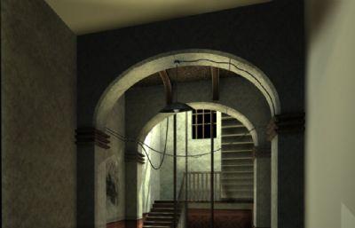 室�却��炔�翘葸^道通道�鼍�maya模型